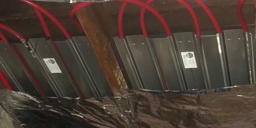 SOLDEK Panel with Tubing (Close-Up)